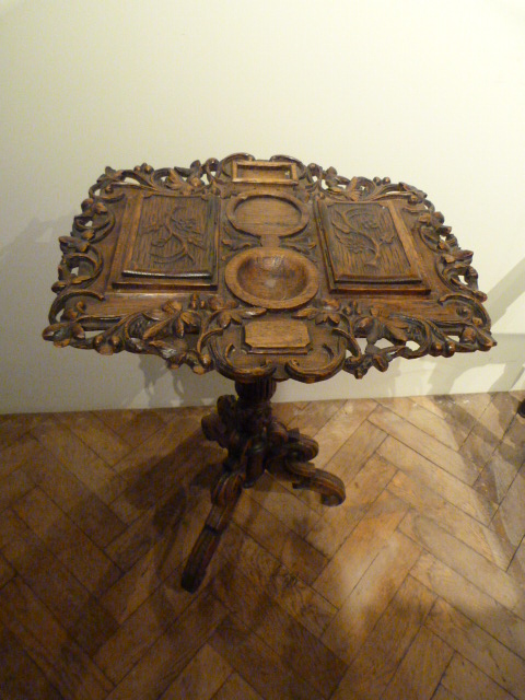 jb-antique black forest table