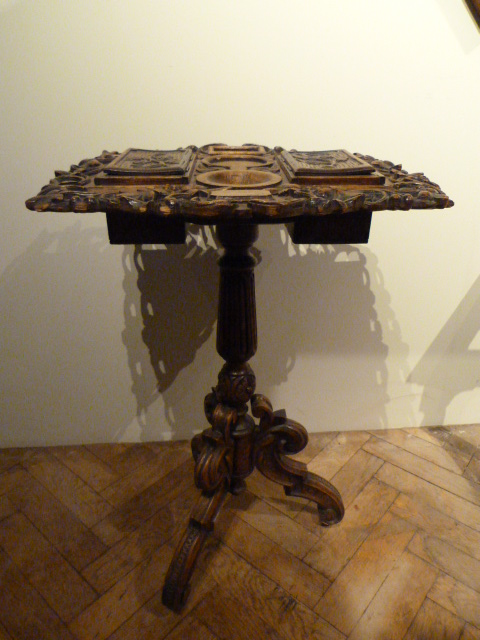 JB antiques black forest table