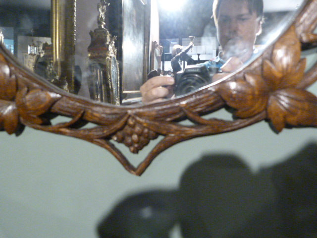 jb antiques wooden mirrors