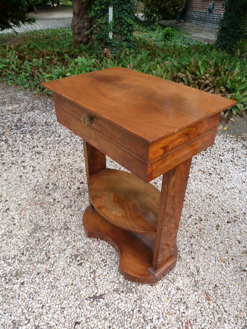 side write tafel table jb antique