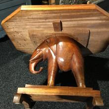 Ashanti elephant table